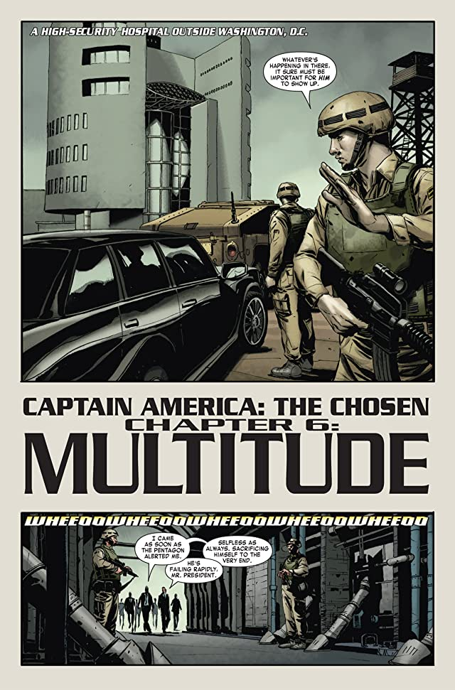 click for super-sized previews of Captain America: The Chosen #6