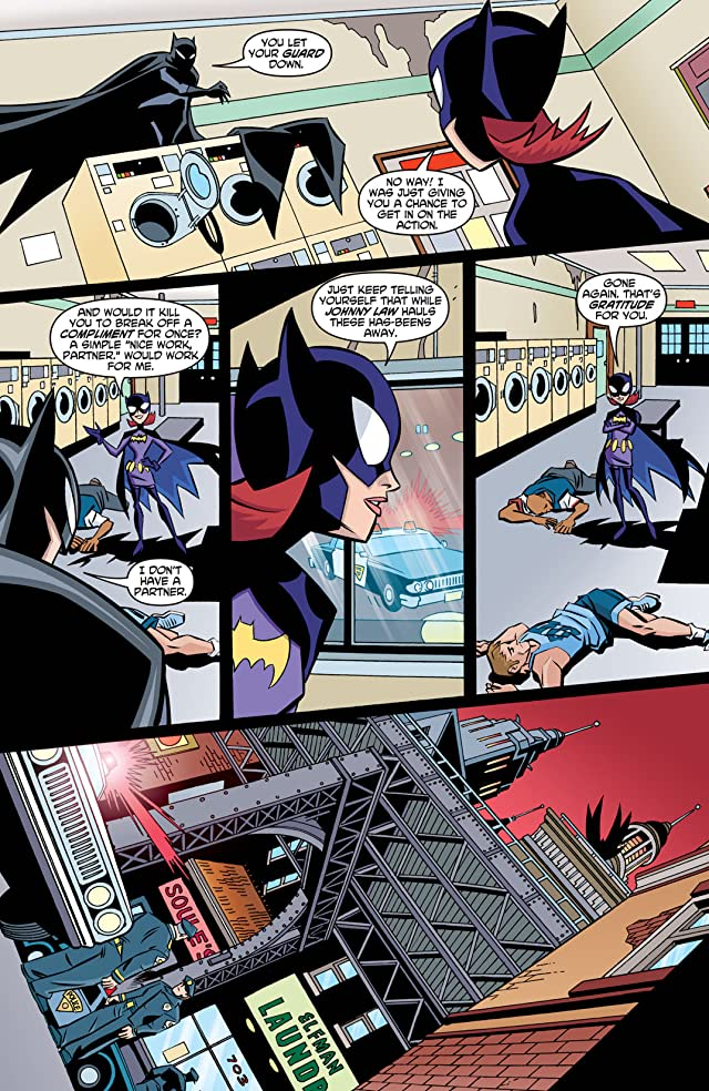 click for super-sized previews of The Batman Strikes! #18