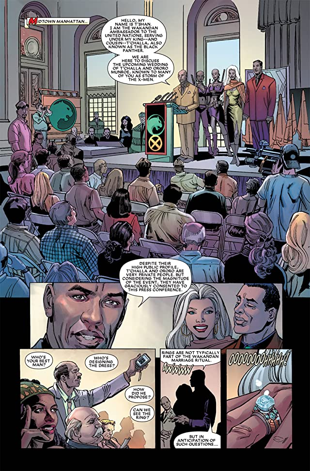 click for super-sized previews of Black Panther (2005-2008) #17
