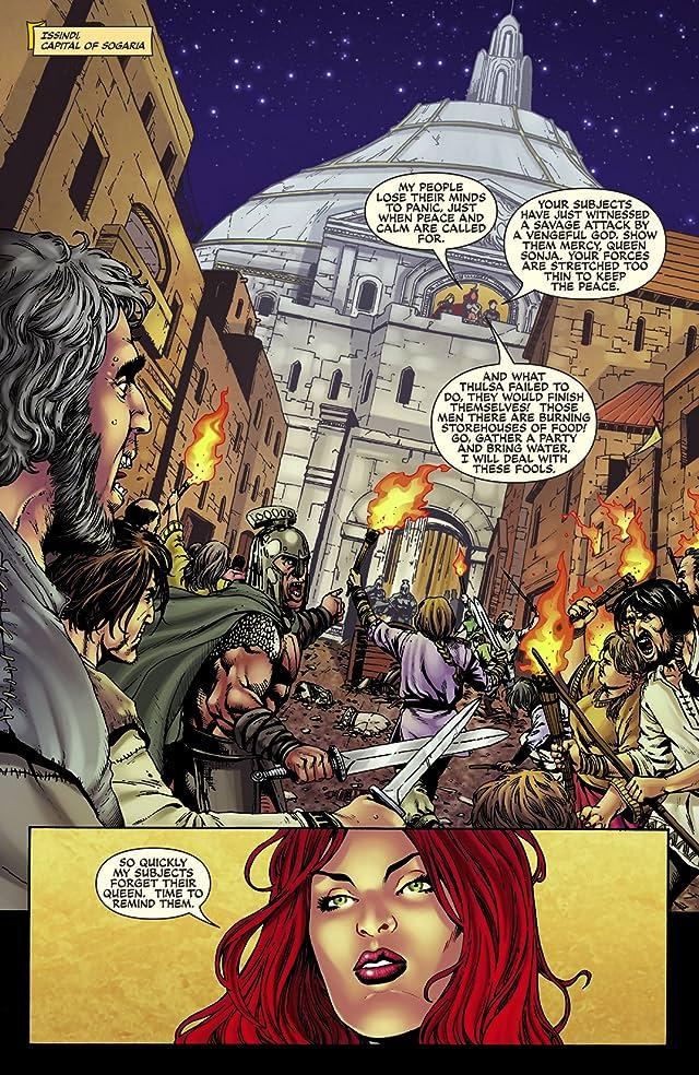 Queen Sonja Vol. 5: Ascendancy