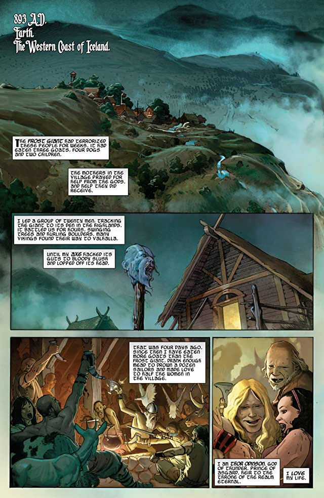 Thor: God of Thunder Vol. 1: The God Butcher