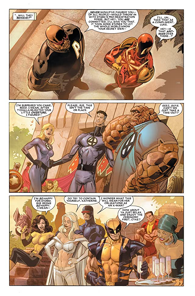 click for super-sized previews of Black Panther (2005-2008) #18