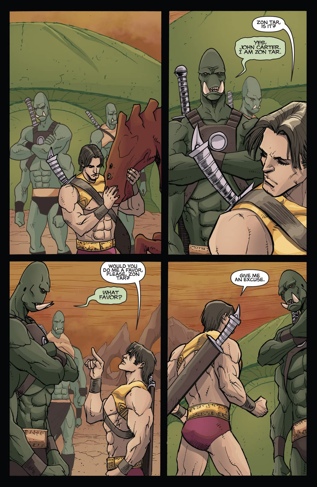 Dejah Thoris and the Green Men of Mars #8 (of 12)