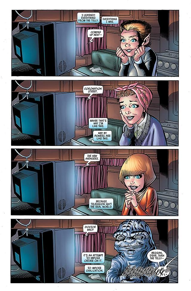 Captain Britain and MI: 13 Annual #1