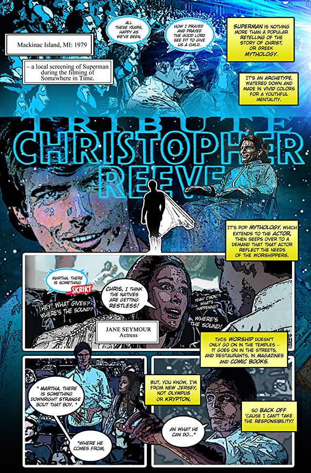 click for super-sized previews of Tribute: Christopher Reeve