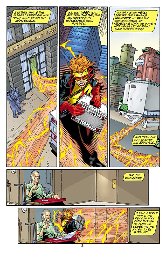 click for super-sized previews of The Kingdom: Kid Flash #1