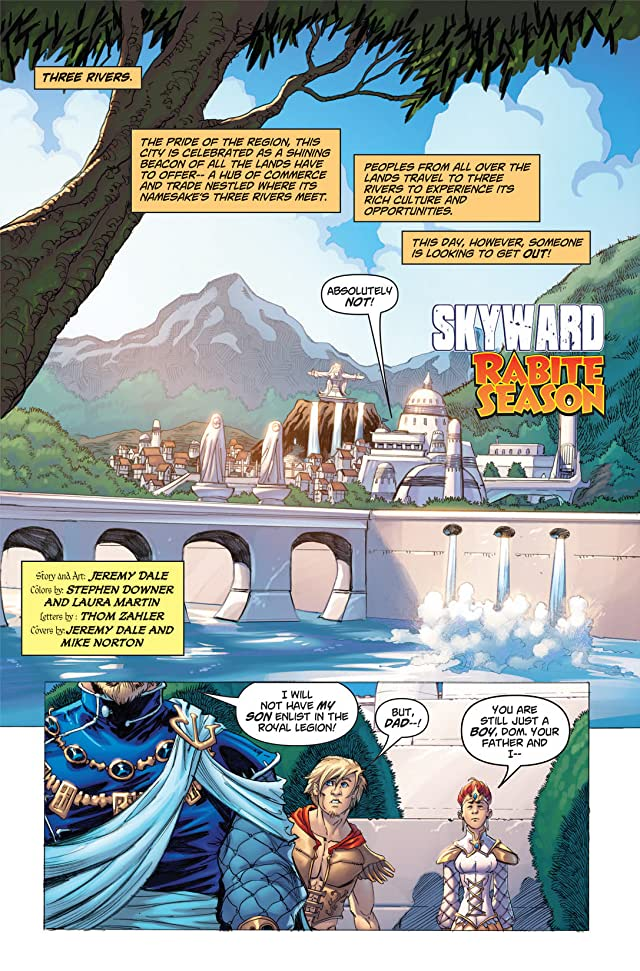 click for super-sized previews of Skyward #4