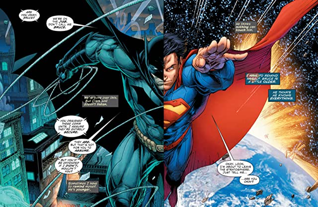 click for super-sized previews of Batman/Superman (2013-) #5