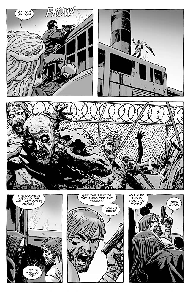 click for super-sized previews of The Walking Dead #116