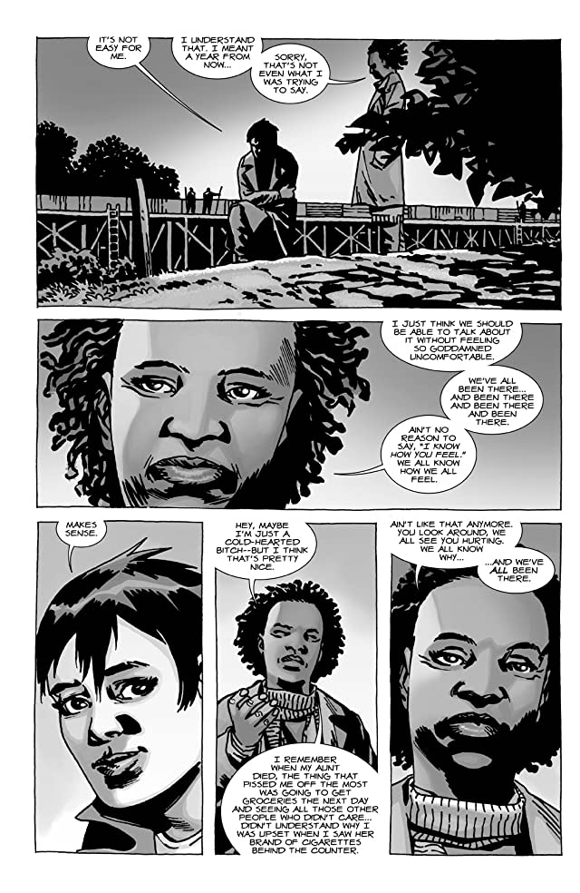 click for super-sized previews of The Walking Dead Vol. 19: March To War