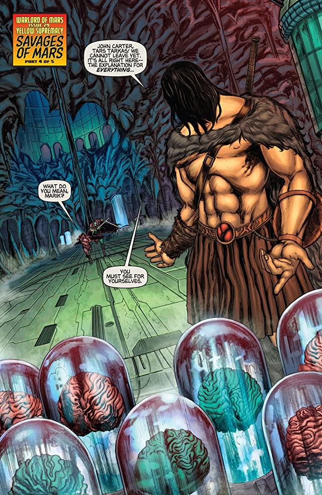 click for super-sized previews of Warlord of Mars #29