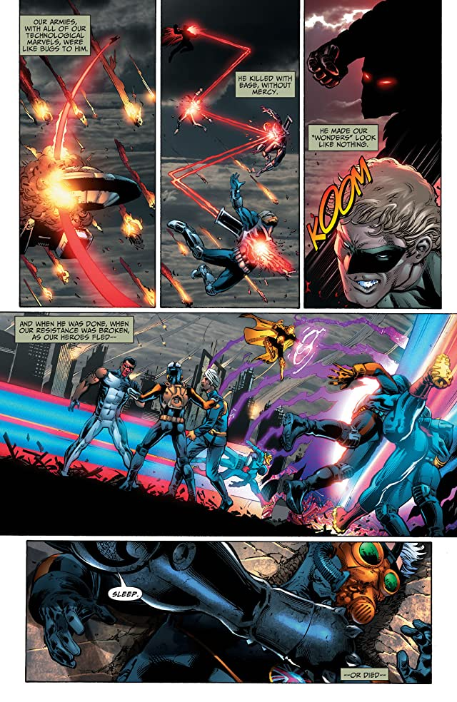 click for super-sized previews of Earth 2 (2012-2015) #17