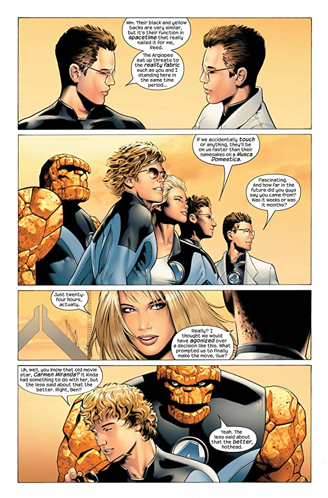 Ultimate Fantastic Four Vol. 6: Frightful