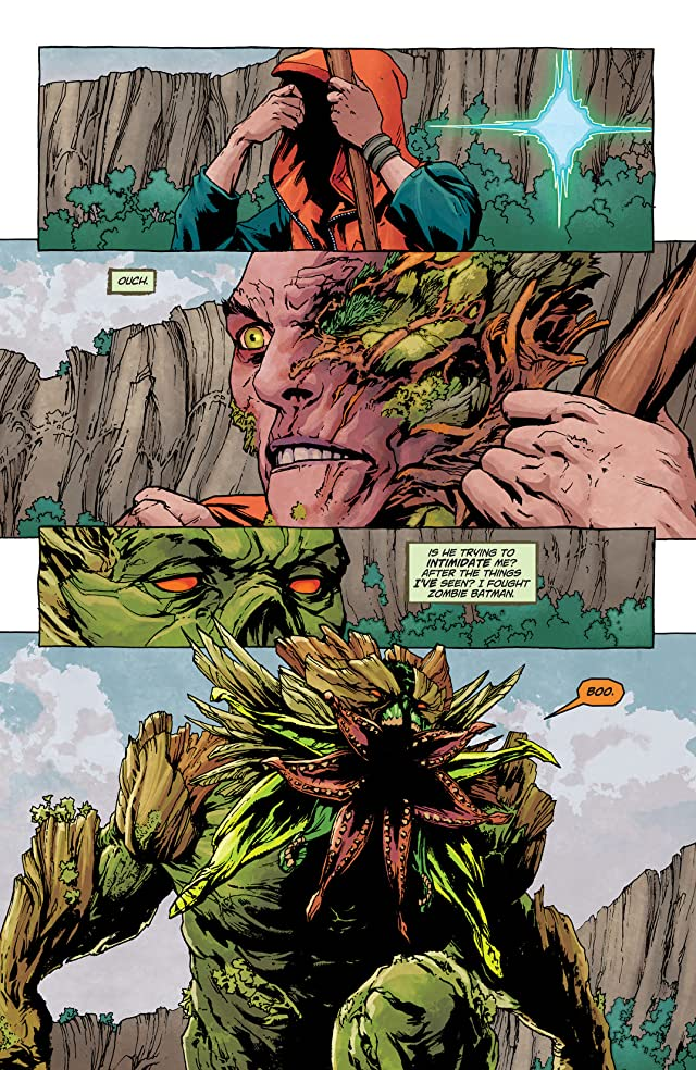 click for super-sized previews of Swamp Thing (2011-2015) #25