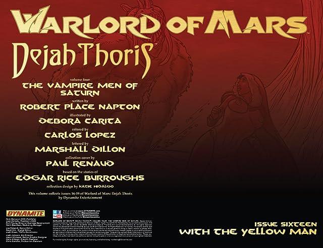 Warlord of Mars: Dejah Thoris Vol. 4: The Vampire Men of Saturn