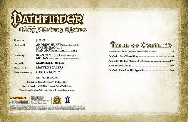 Pathfinder Vol. 1: Dark Waters Rising