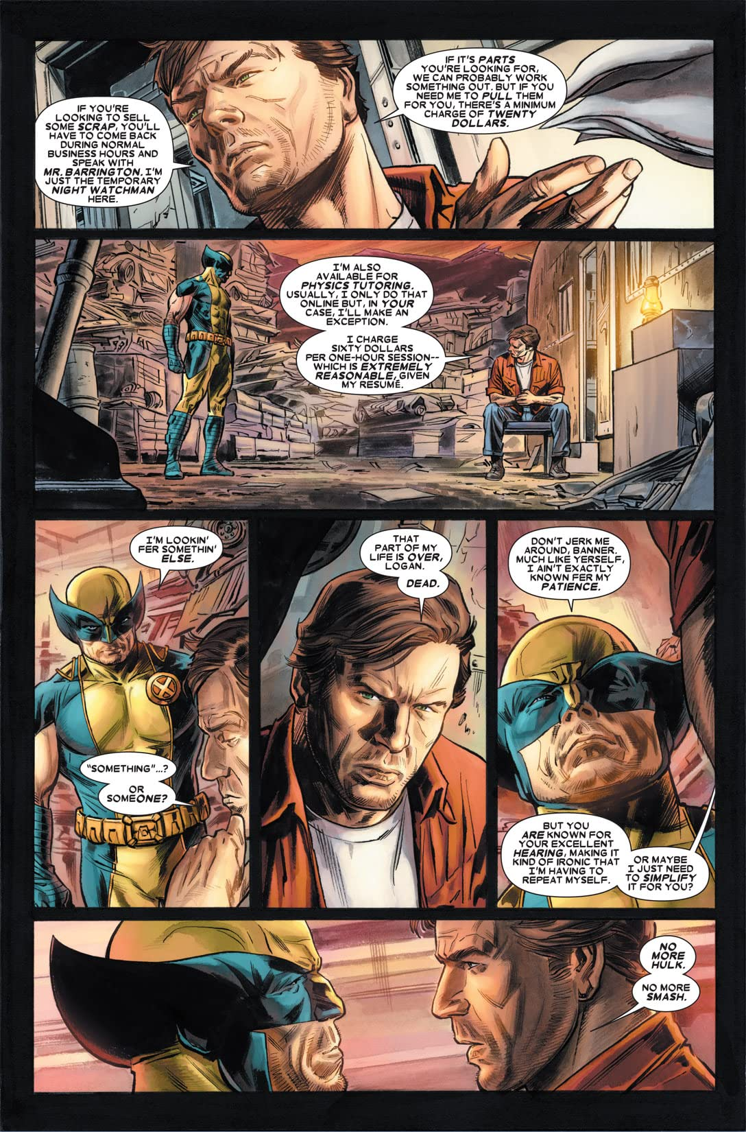Wolverine: Origins - Seven The Hard Way