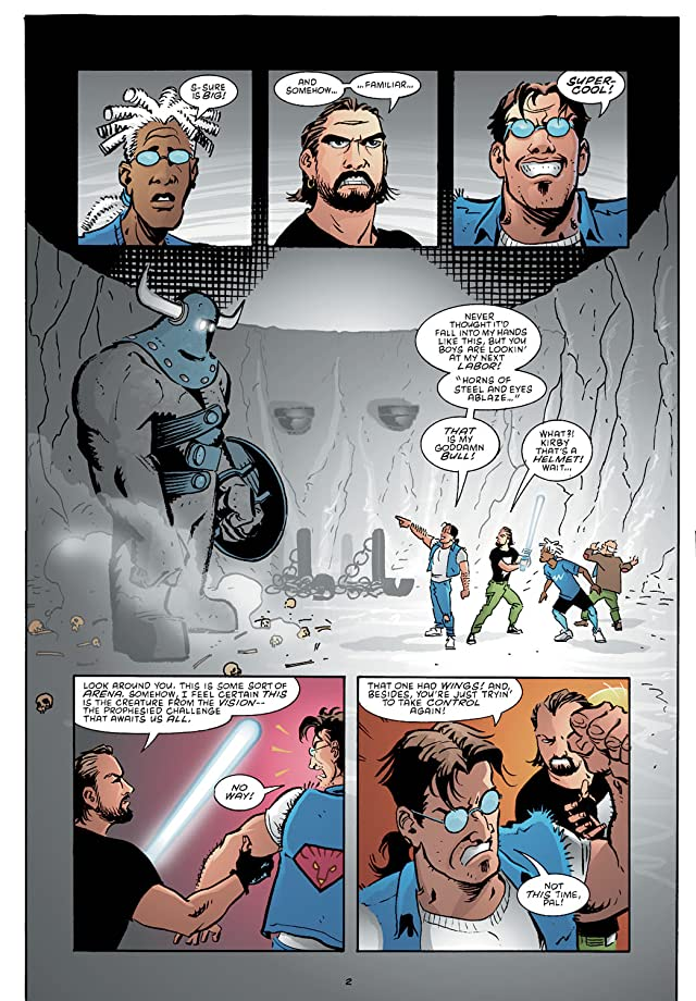 click for super-sized previews of Mage 2: The Hero Defined #14