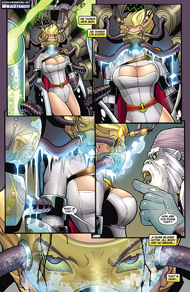 click for super-sized previews of Power Girl #3
