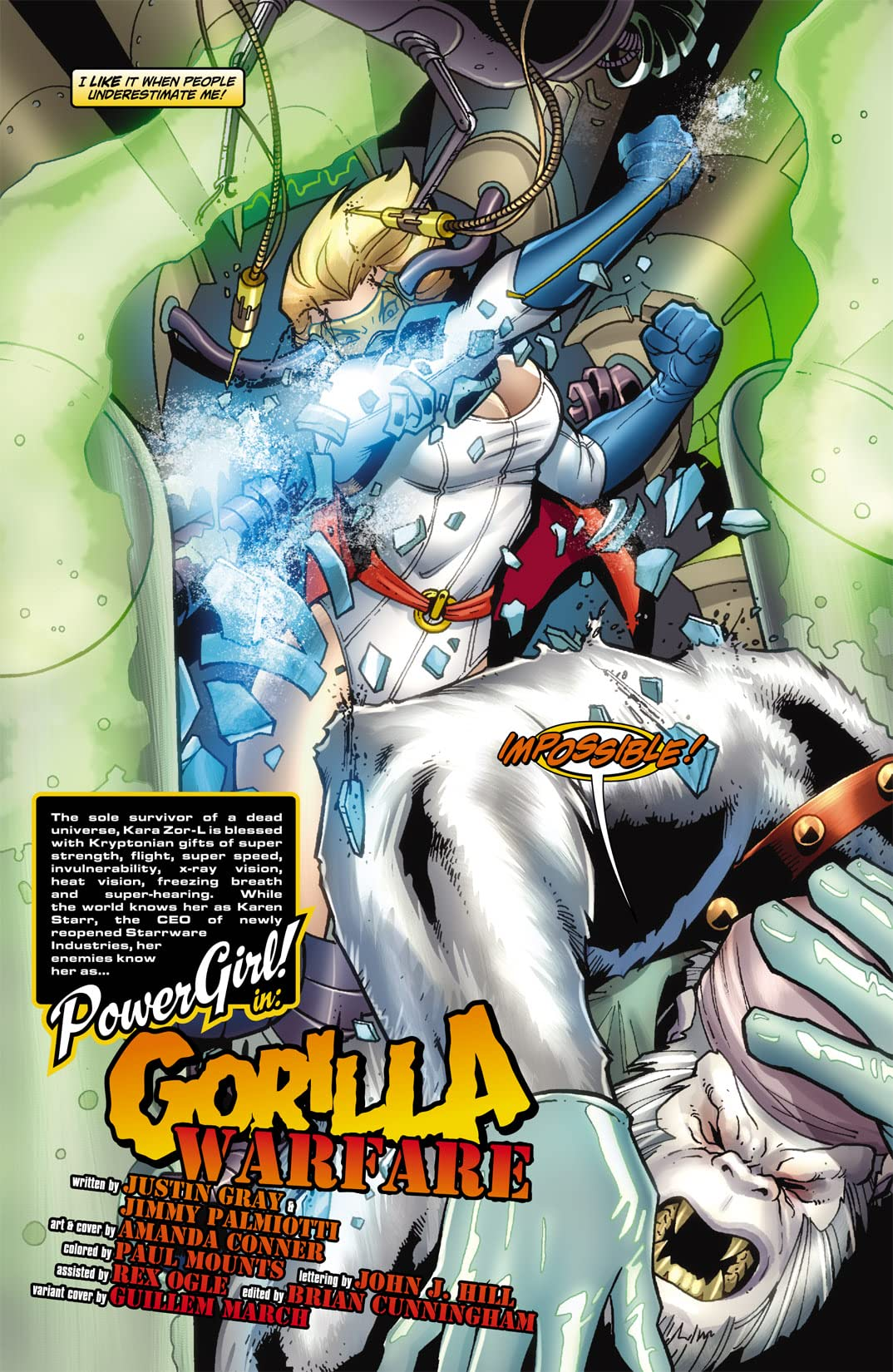 Power Girl (2009-2011) #3