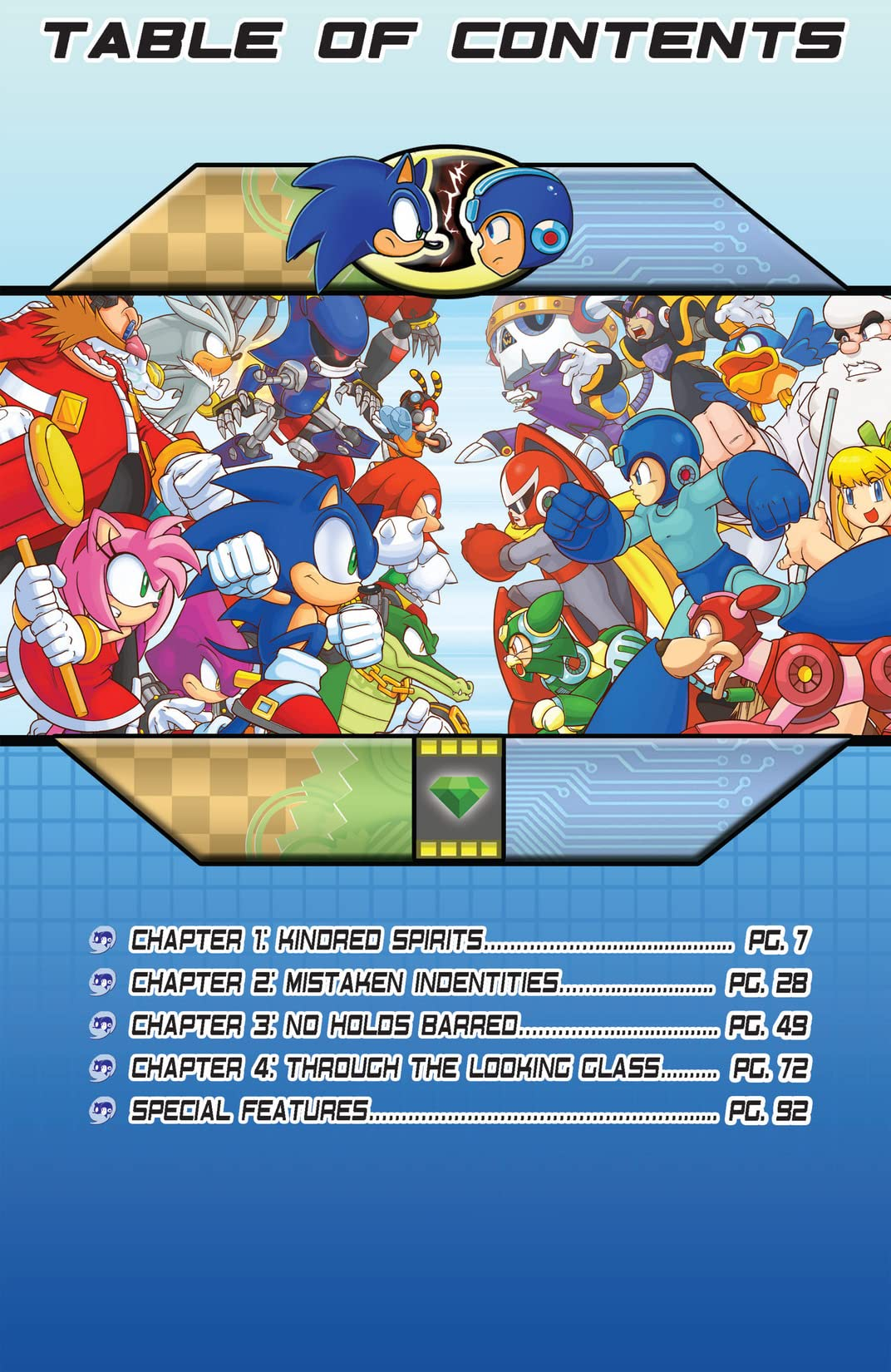 Sonic the Hedgehog/Mega Man: Worlds Collide Vol. 1