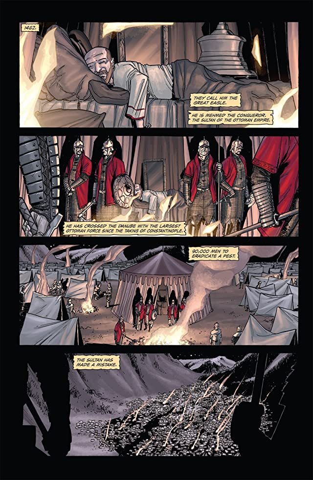 click for super-sized previews of Dracula: The Company of Monsters #1