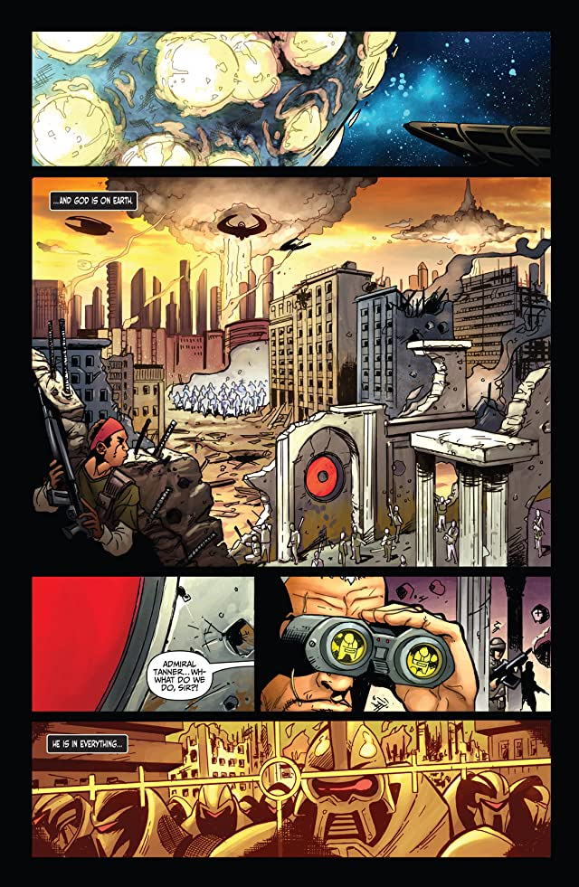 click for super-sized previews of Battlestar Galactica: Cylon War #1