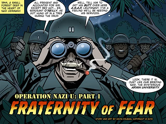 click for super-sized previews of Operation Nazi U #1