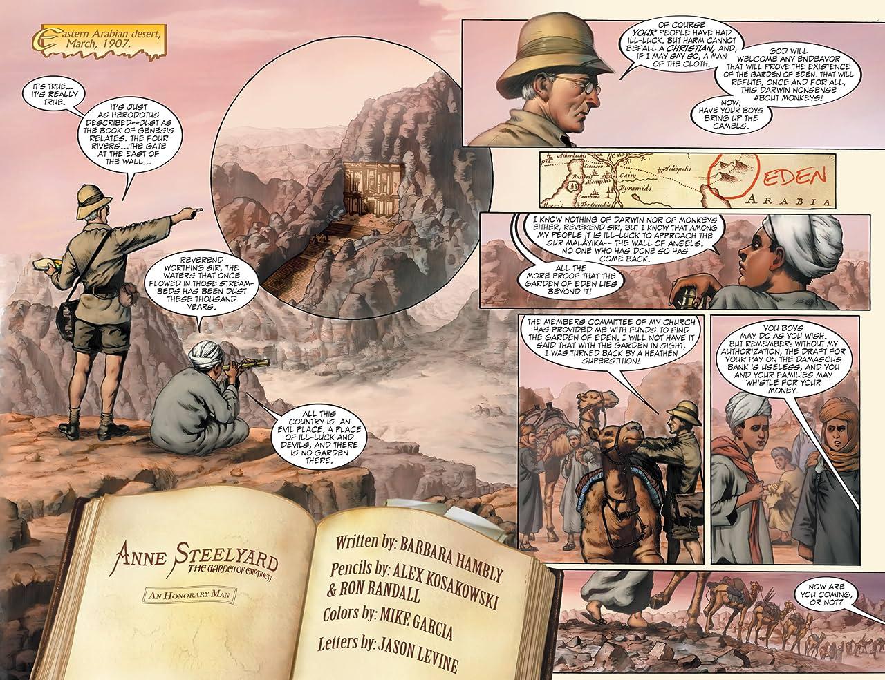 Anne Steelyard Vol. 1: An Honorary Man