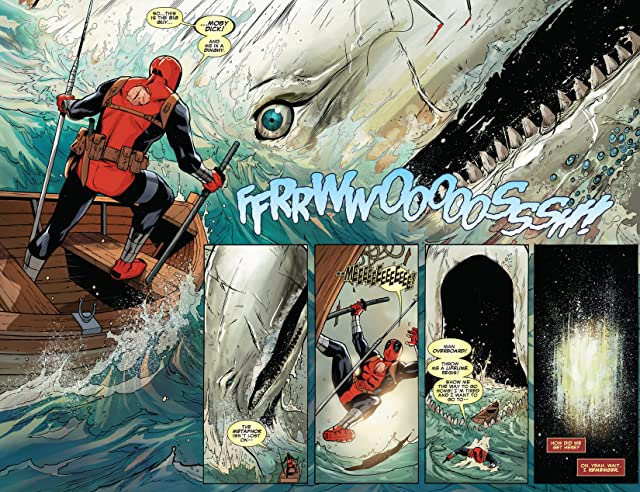 click for super-sized previews of Deadpool Killustrated
