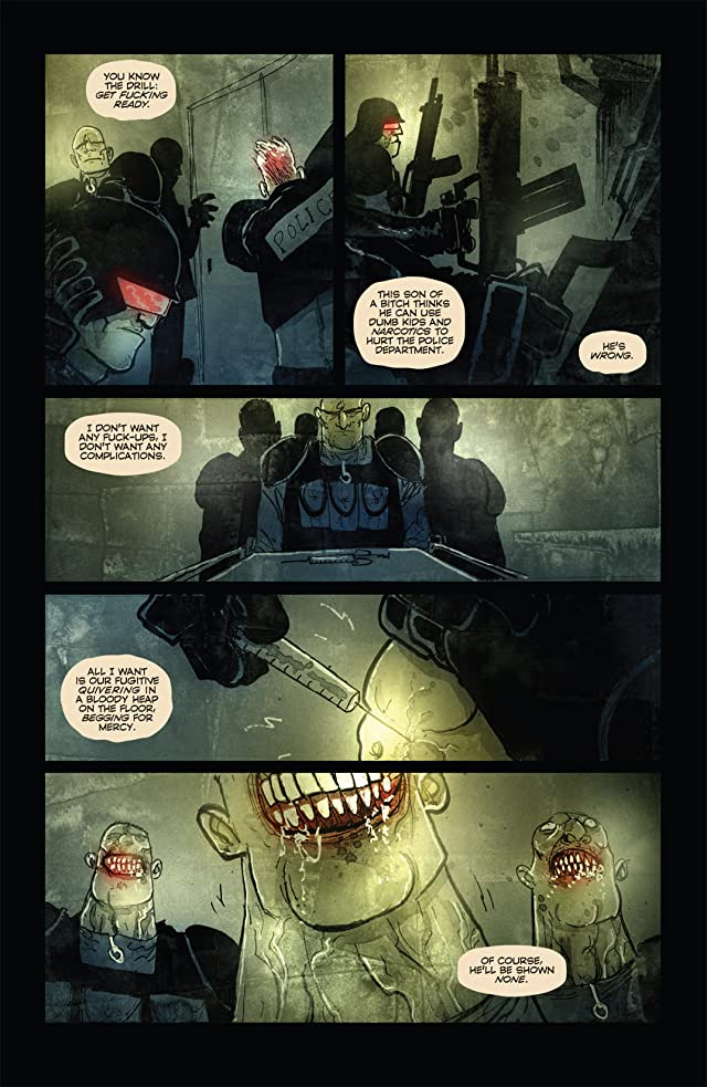 click for super-sized previews of Choker #4 (of 6)