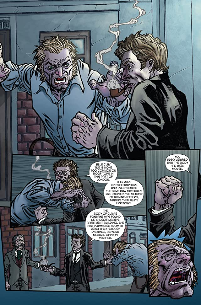 click for super-sized previews of Sherlock Holmes: Victorian Knights #0
