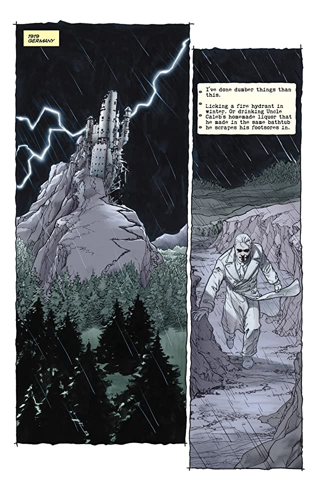 click for super-sized previews of Planetary #13