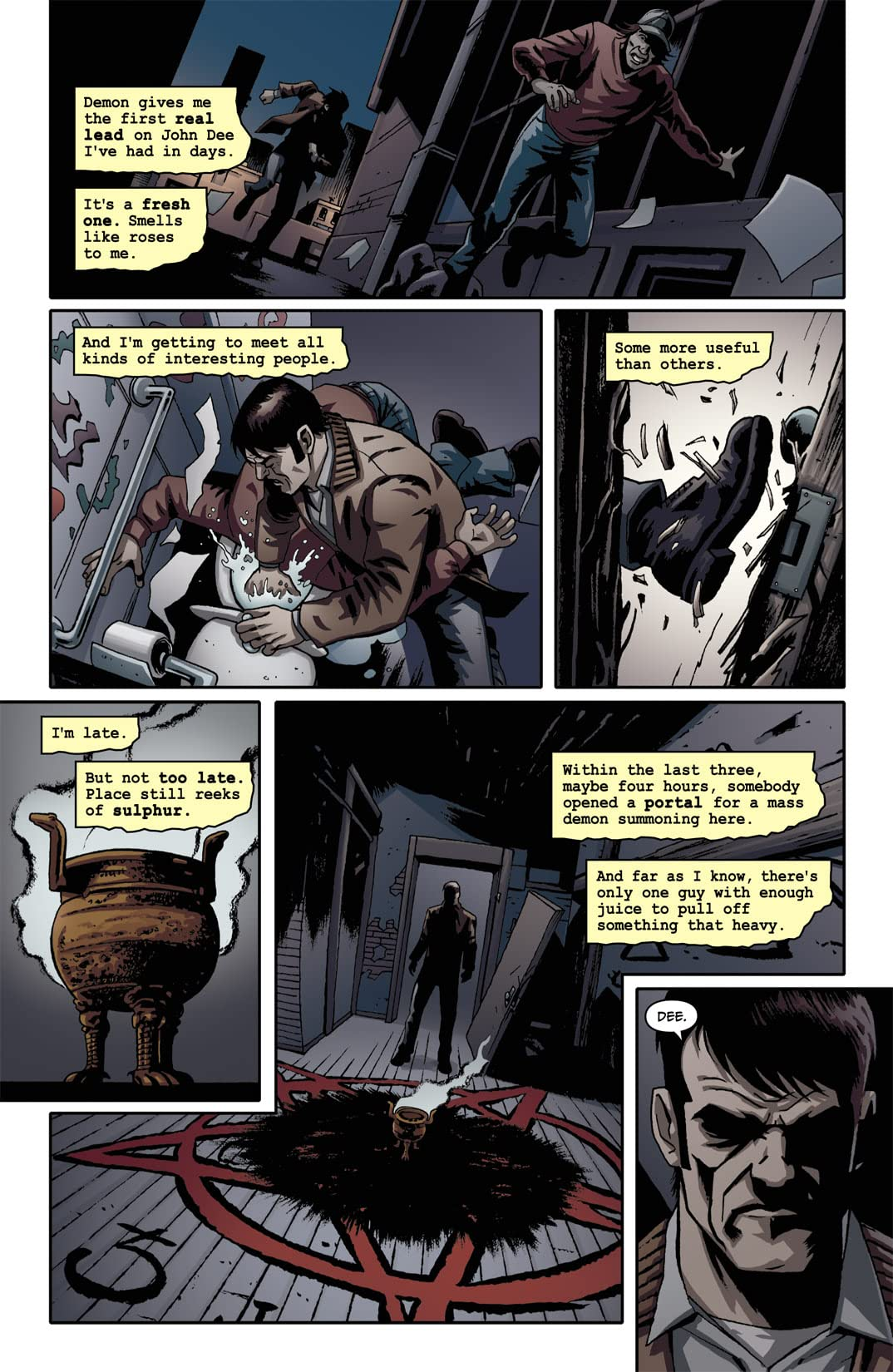 Supernatural: Beginning's End #4 (of 6)