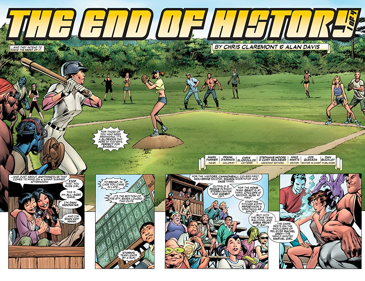 Uncanny X-Men - The New Age Vol. 1: The End Of History