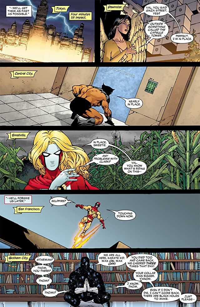 click for super-sized previews of Justice League of America (2006-2011) #10