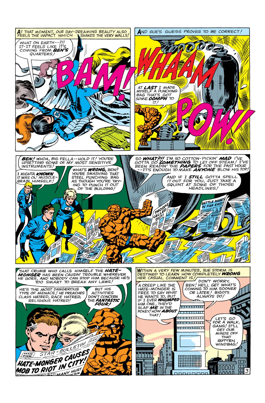 Fantastic Four Masterworks Vol. 3