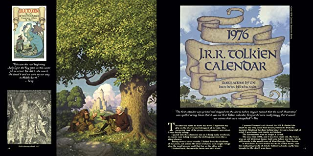 click for super-sized previews of The Tolkien Years of the Brothers Hildebrandt