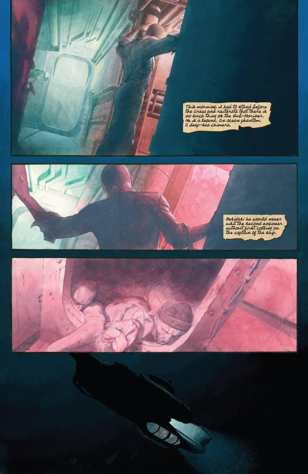 Sub-Mariner: The Depths