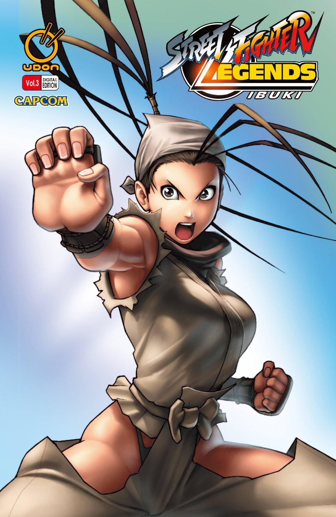 Street Fighter Legends: Ibuki Vol. 3