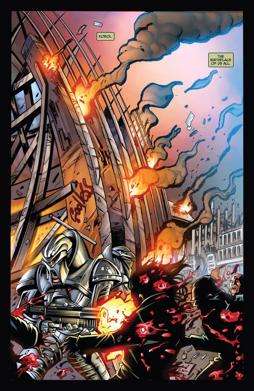 Battlestar Galactica: The Final Five #2 (of 4)