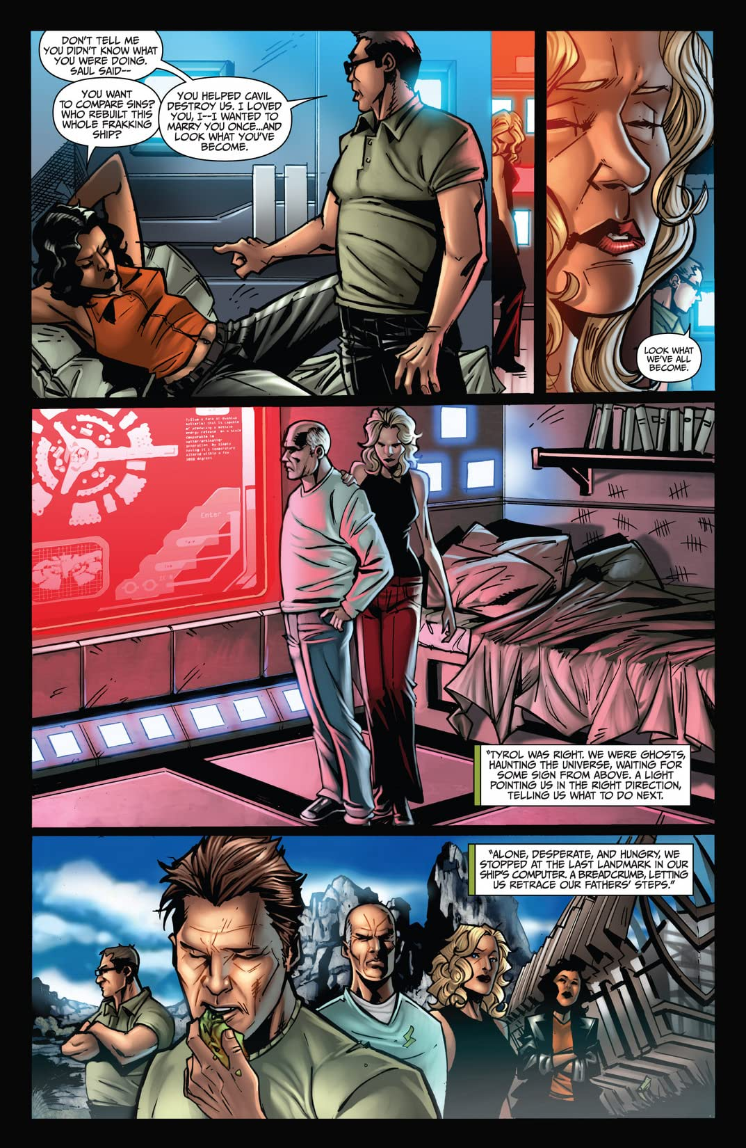 Battlestar Galactica: The Final Five #4 (of 4)