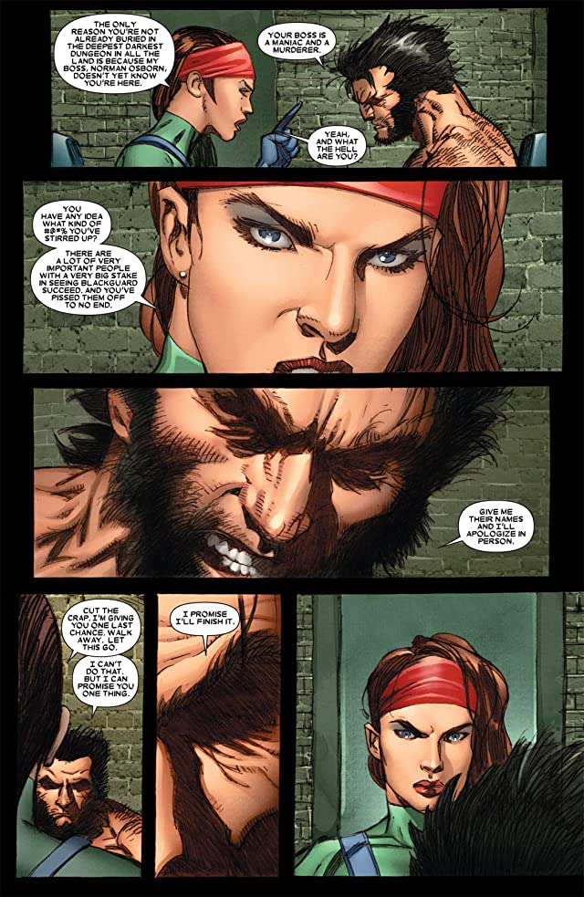 click for super-sized previews of Wolverine: Weapon X #5