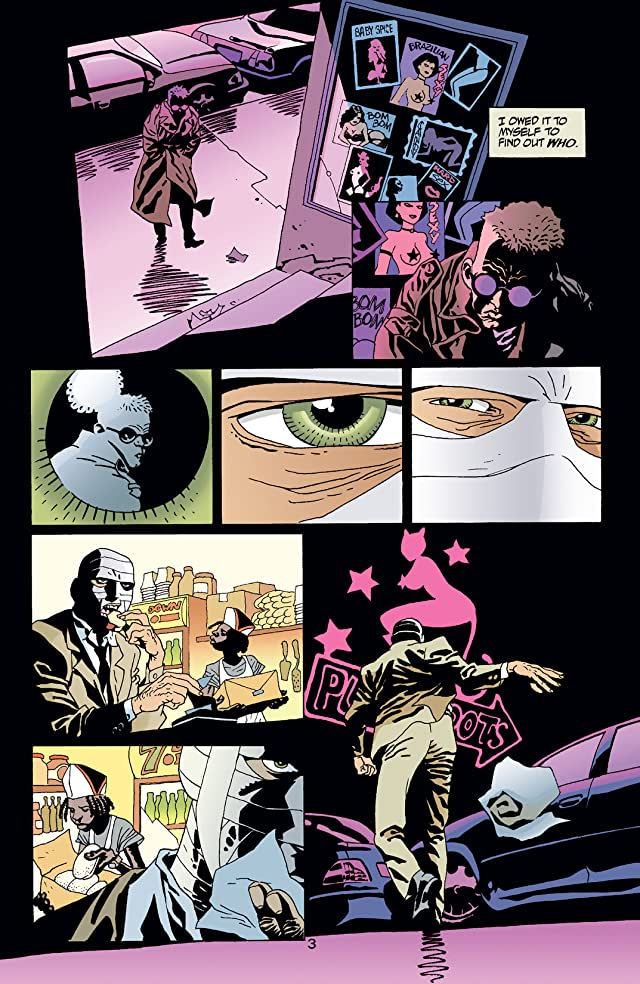 click for super-sized previews of 100 Bullets #32