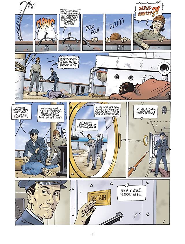 click for super-sized previews of Harry Dickson Vol. 8: Le sanctuaire du Grand Ancien