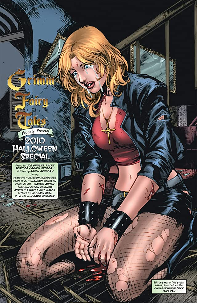 click for super-sized previews of Grimm Fairy Tales #2: Halloween Special 2010