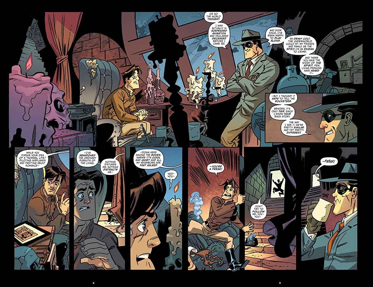 Rocketeer/The Spirit: Pulp Friction! #3 (of 4)