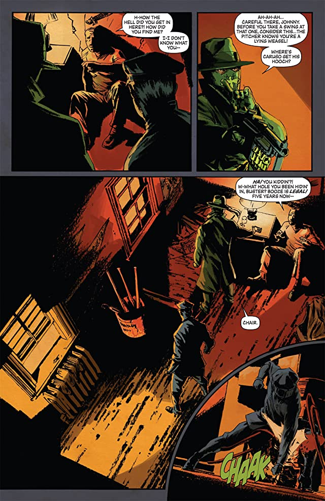 click for super-sized previews of Green Hornet: Year One #5