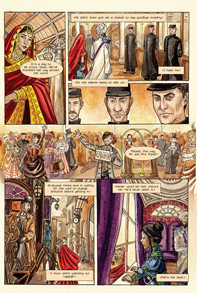 click for super-sized previews of Clockwork Watch Vol. 1: The Arrival