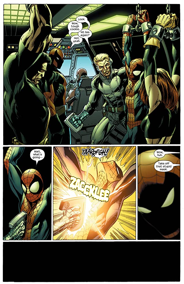 click for super-sized previews of Ultimate Spider-Man (2000-2009) #92